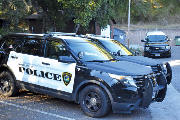 Scotts Valley Police budget