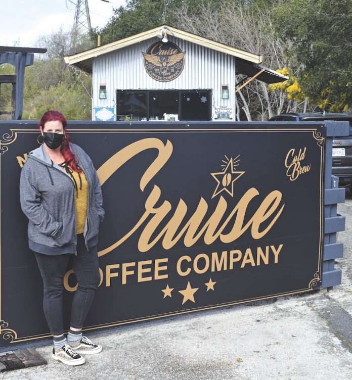 Cruise Coffee Company the hot pink box co. new bakery