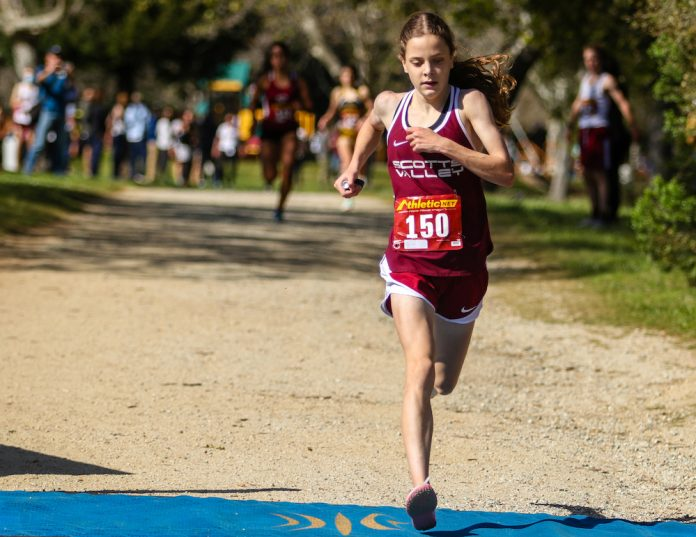 ashlyn Amber Boothby scotts valley sccal championships