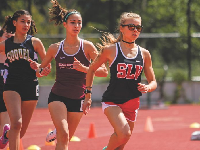 San Lorenzo Valley High scotts valley sccal track and field