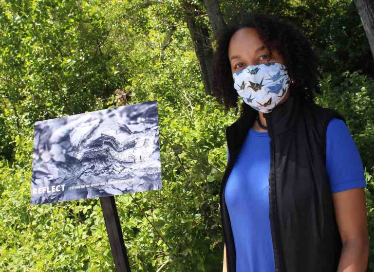Art exhibit provides space for locals touched by CZU fire to reflect
