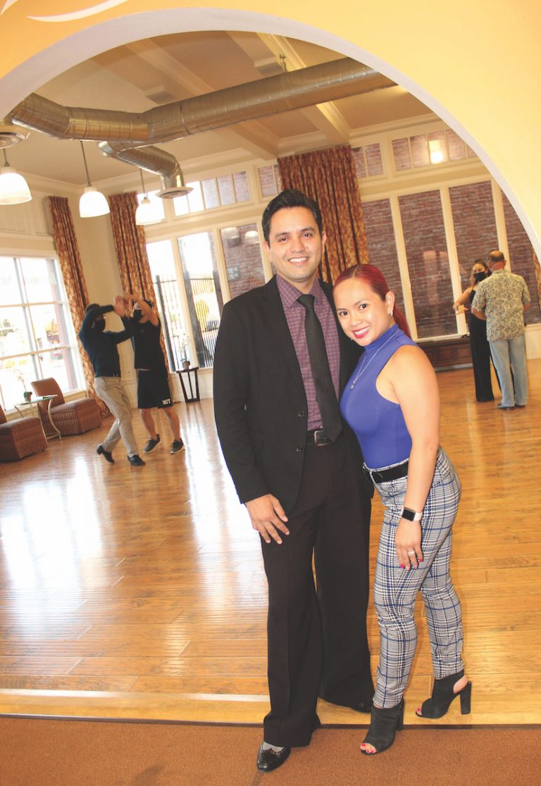 Couple opening ballroom studio as dance community emerges from lockdown