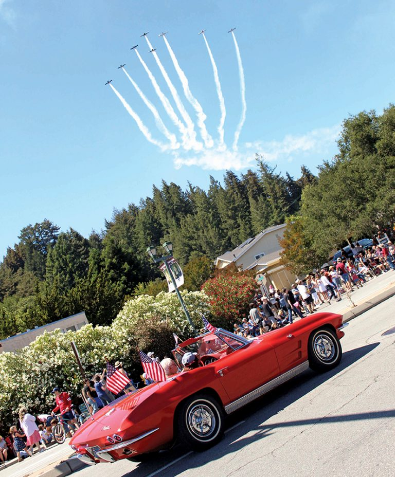 Santa Cruz Mountains communities celebrate Fourth