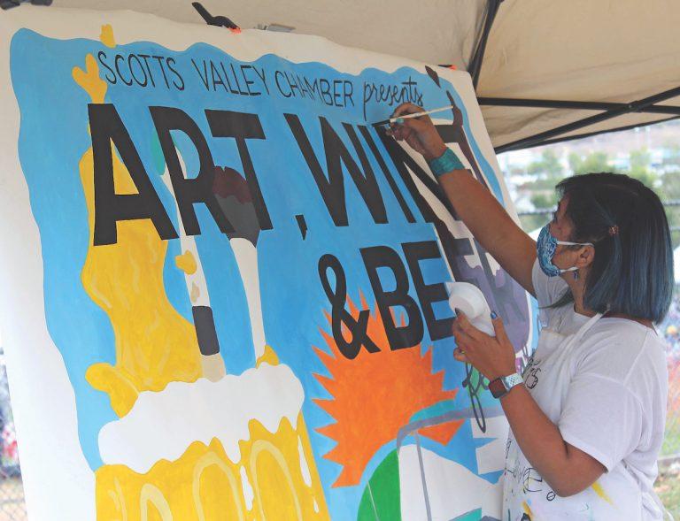 Refreshing Flavors at Scotts Valley Art, Wine & Beer Fest