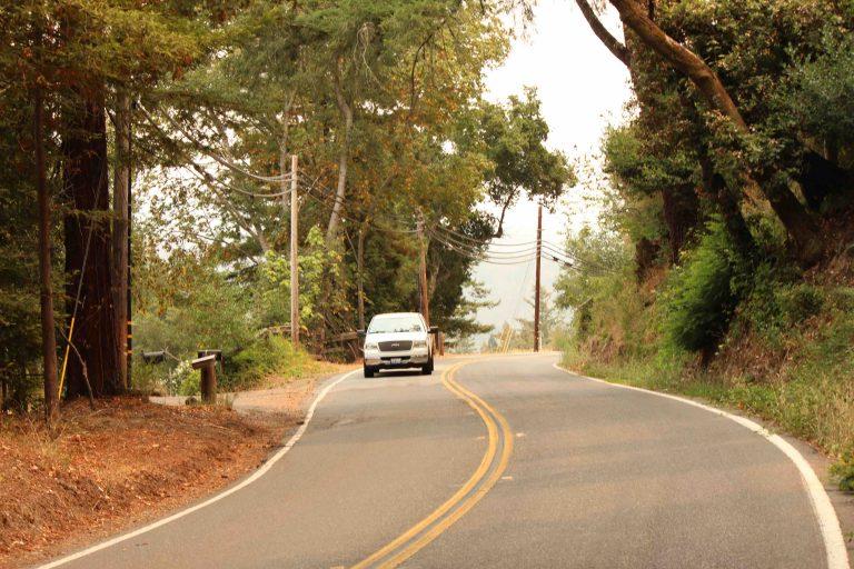 Federal Money Flowing to Popular Santa Cruz County Backroad
